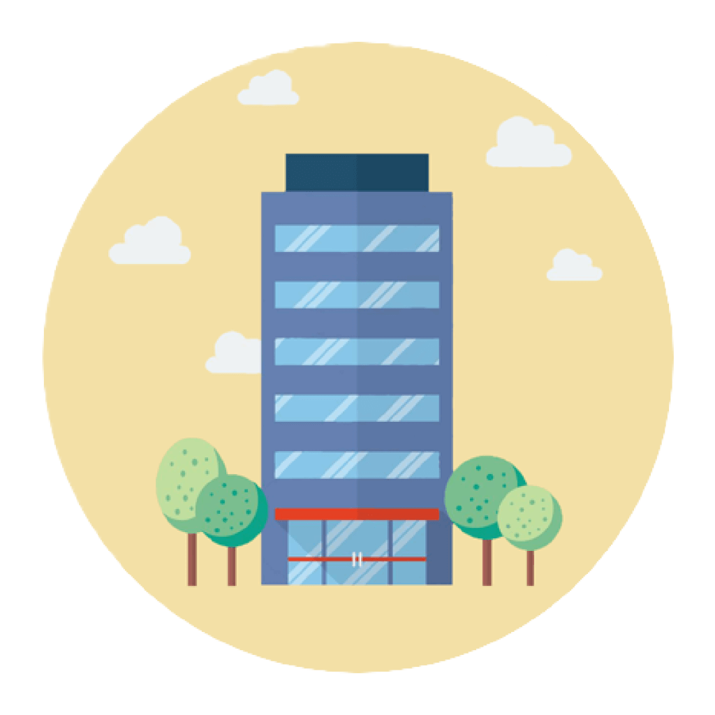 Corporation Building Round Final FlatDesign